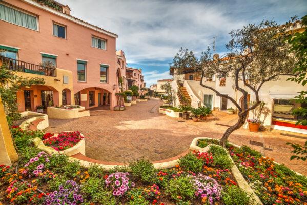 Sardinien Stadt