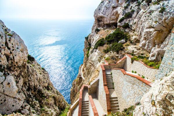 Sardinien Treppen