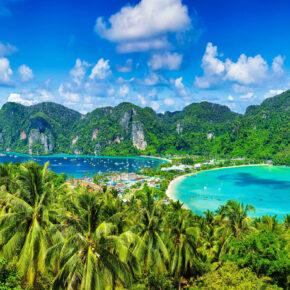 Backpacking-Trip: 25-tägige Rundreise in Thailand inkl. Qatar Flügen und Strandhotels nur 498€