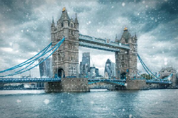 Tower Bridge im Winter