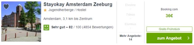 2 Tage nach Amsterdam