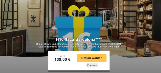 3 Tage Barcelona mit Flug
