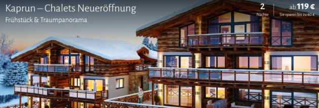 3 Tage Österreich in neueröffneten Chalets