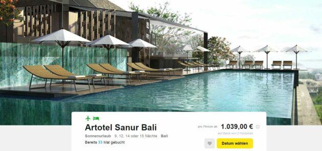 Bali Schnäpchen