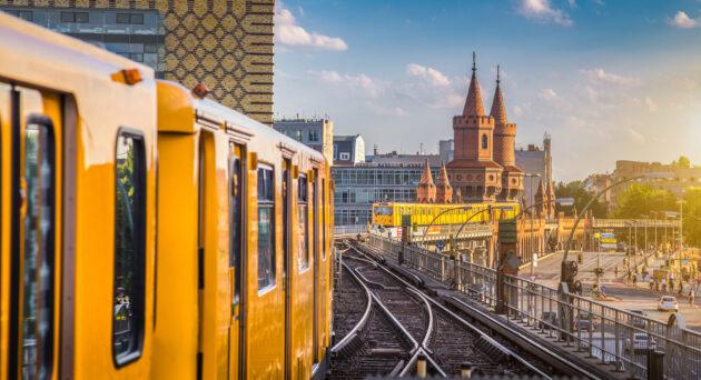 Berlin U-Bbahn Oberbaumbruecke