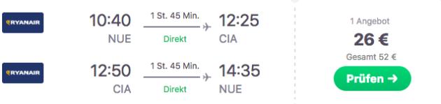 Zum Flug ab Nürnberg