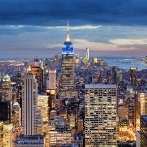 NYC: 6 Tage Big Apple im sehr guten 4* Hotel inkl. Direktflug nur 622€