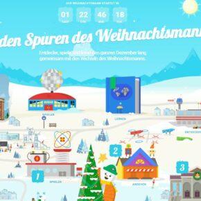 Santa Tracker: Auf den Spuren des Weihnachtsmanns