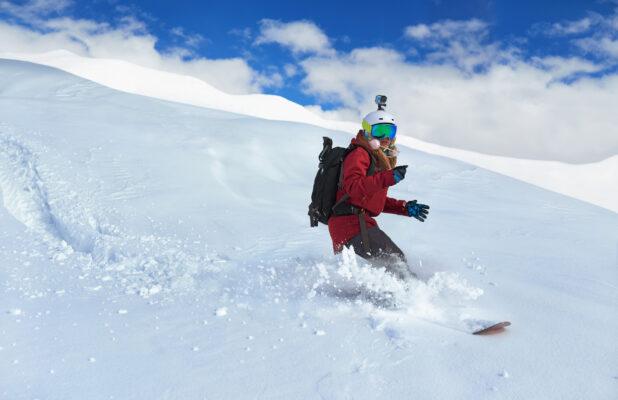 Action Cam im Schnee