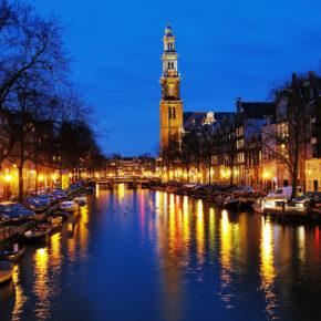 Silvester in Amsterdam: 2 Tage im TOP 4* Hotel nur 64€