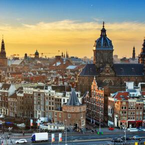 Amsterdam: 2 Tage Städtetrip mit Unterkunft nur 16€