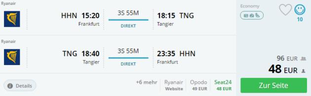 Hahn nach Tangier