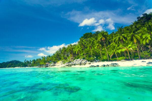 Koh Samui Grünes Meer