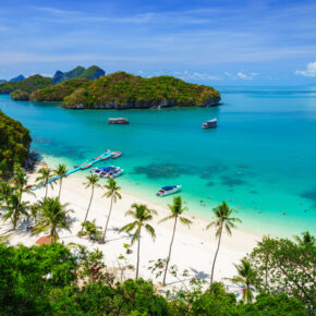 Inselhopping Thailand: 21 Tage auf verschiedene thailändische Inseln mit Flügen nur 386€