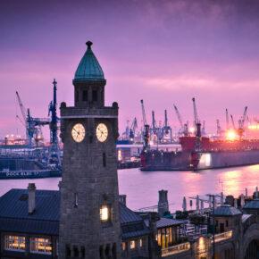 Kurztrip Hamburg: 2 Tage im TOP 4.5* Hotel inkl. Großer Hafenrundfahrt ab nur 69€