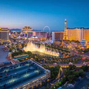 Las Vegas Paris und Bellagio