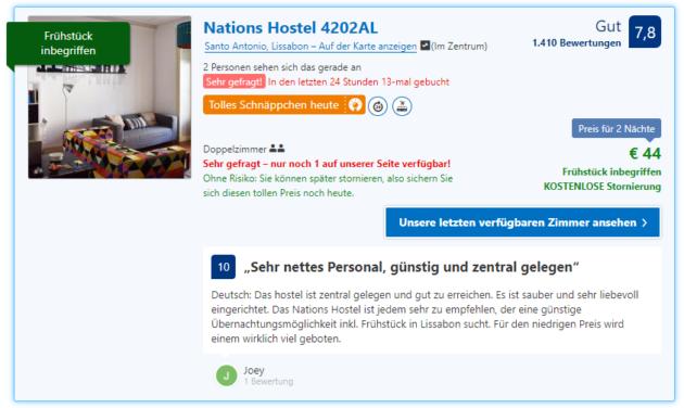 Nations Hostel