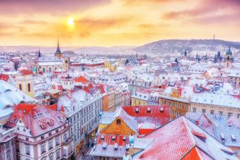 Prag-Wochenende im Winter: 3 Tage im zentralen 4* Hotel mit Frühstück & BIER-FLATRATE nur 63€