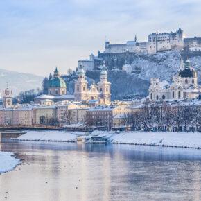 Winterwunderland: 2 Tage Salzburger Christkindlmarkt im zentralen TOP 4* Hotel ab 39€