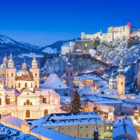 Salzburg Christkindlmarkt: 3 Tage im 4* Hotel mit Frühstück, Sauna & Christkindl-Pass für 89€