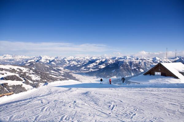 Skigebiet Wilder Kaiser Tirol