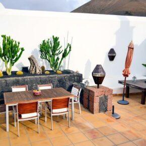 Ferienvilla Lanzarote Terrasse