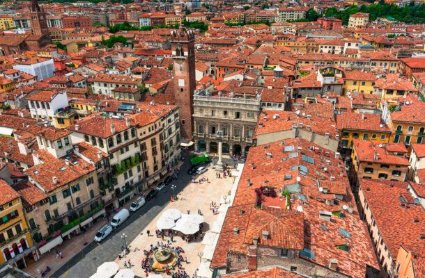 Verona Piazza del Erbe