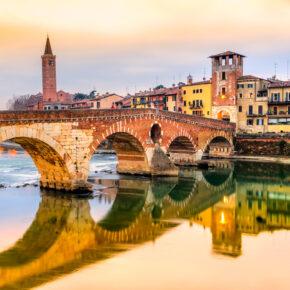 Dolce Vita & Amore in Verona: 2 Tage im TOP 4* Hotel nur 27€