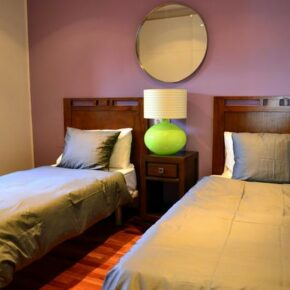 Ferienvilla Lanzarote Zimmer mit Einzelbetten