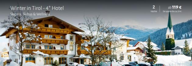 3 Tage Tirol mit Skipass