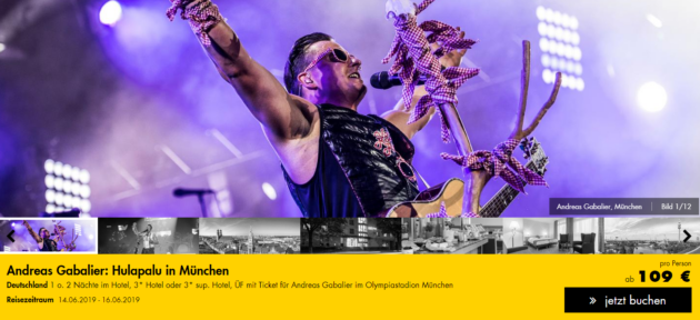 2 Tage Muenchen Andreas Gabalier