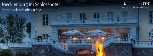 3 Tage Schlosshotel in Mecklenburg