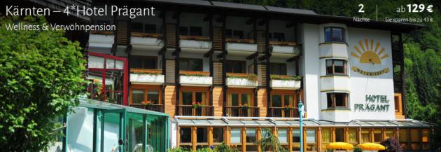 3 Tage Wellness im AWARD Hotel in Kärnten
