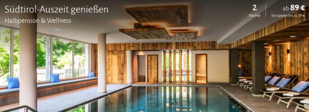 3 Tage Wellness in Südtirol