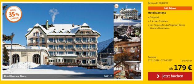 Davos Skiurlaub