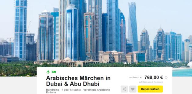 8 Tage Dubai & Abu Dhabi