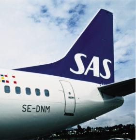 SAS Airline Flugzeug