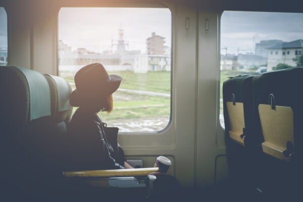 Japan Reisen Zug
