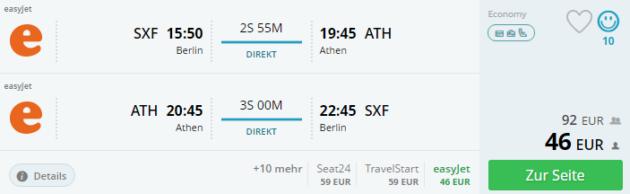 Flug Athen Deal