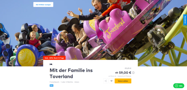 Winter Toverland Hotel