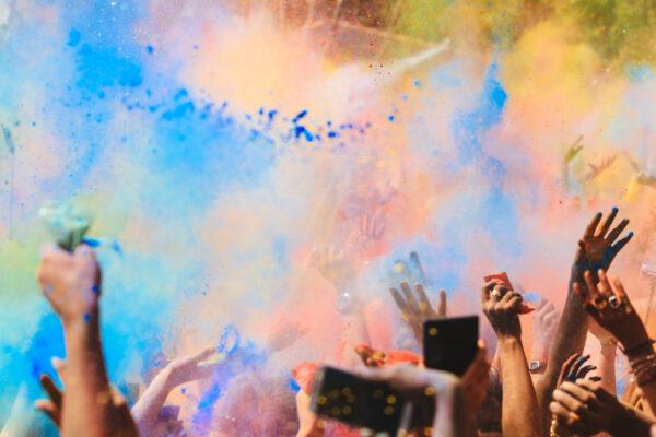 Holi Festival Farbfestival