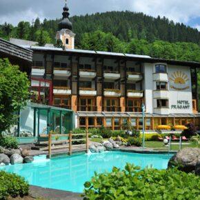 Hotel Prägant im Sommer