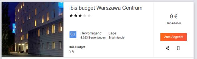Ibis Warschau