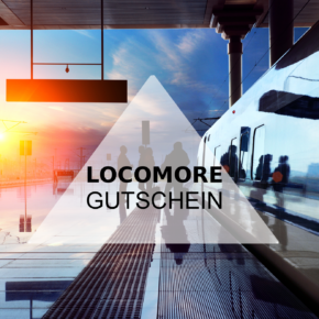 Locomore Gutschein: 3 € Sofortrabatt auf alle Strecken