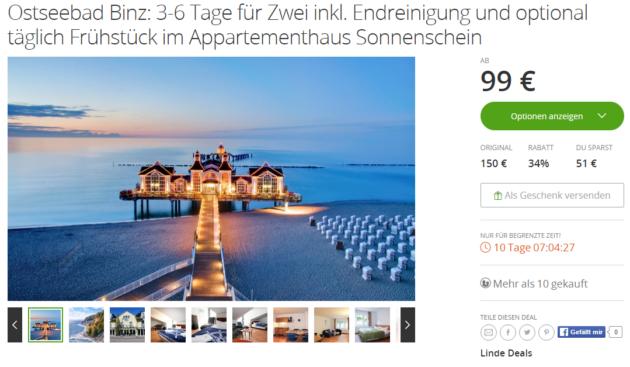 Appartments auf Rügen
