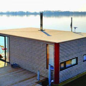 Schwimmende Häuser - 5 Tage Ostsee im eigenen Hausboot inkl. Sauna ab 136€ p.P