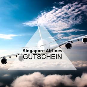 Singapore Airlines: bis zu 390€ Gutschein bei Flugbuchungen