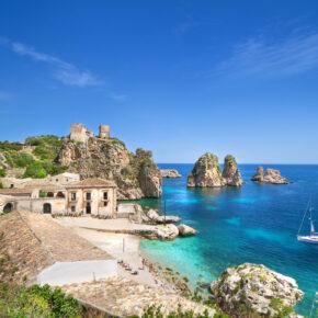 Sizilien: 8 Tage mit Ferienhaus & Flügen nur 51€