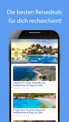 Reise App Übersicht 2