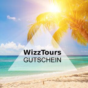 50 € WizzTours Gutschein auf Flug + Hotel Buchungen